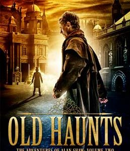 Steampunk book cover for Old Haunts: Alan Shaw Book 2 (by Craig Hallam)