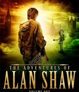 Steampunk book cover for The Adventures of Alan Shaw (by Craig Hallam)
