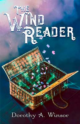 YA Fantasy book cover for The Wind Reader (by Dorothy Winsor)
