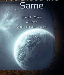 SciFi space opera book cover for We Bleed The Same (by David WIlkinson)