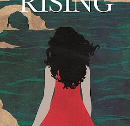 Literary Magical Realism book cover for Blue Tide Rising (by Clare Stevens)