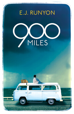 Literary Fiction book cover for 900 Miles (by E.J. Runyon)