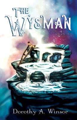 YA Fantasy book cover for The Wysman (by Dorothy A. Winsor)