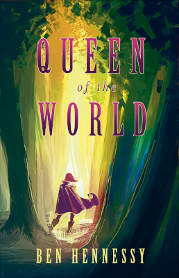 Epic fantasy cover for Queen of the World (by Ben Hennessy)