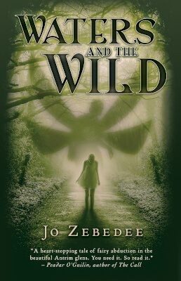 Fantasy thriller book cover for Waters and the Wild (by Jo Zebedee)